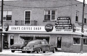 Coffee store in Byron, Ontario
