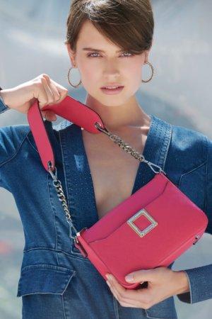 Joseph Ribkoff purses -Dusky pink