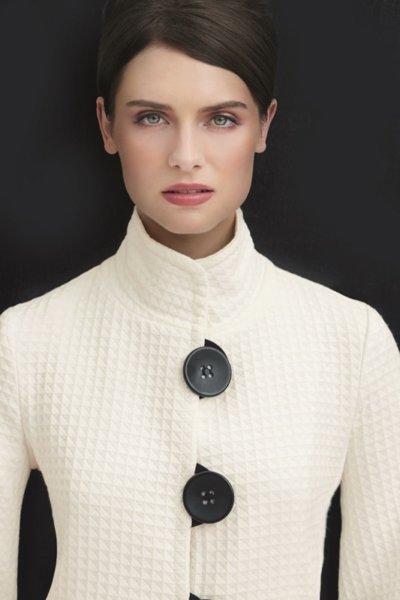 2018 Fall wear by Joseph Ribkoff - white jacket